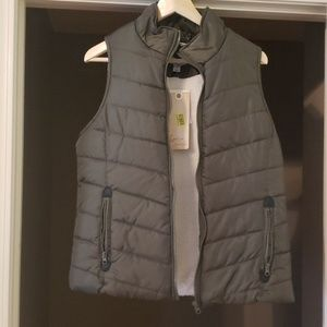 Indigo Saints Olive Puffer Vest